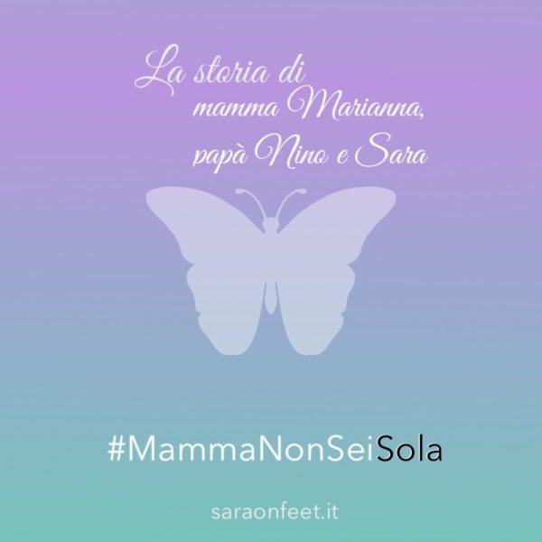 La storia di mamma Marianna, papà Nino e Sara