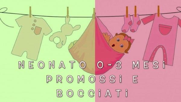 Prodotti per neonato 0 – 3 mesi (Vlog)