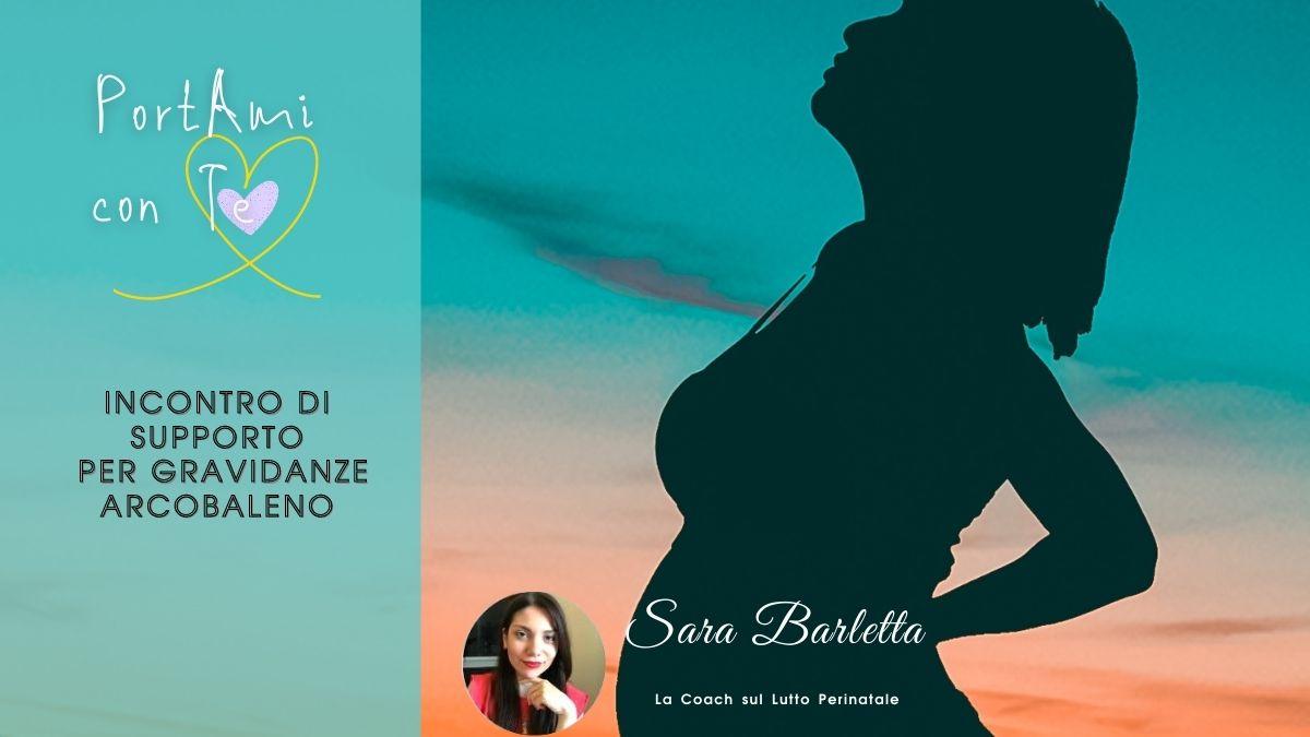 PortAmi con Te – Supporto per gravidanza arcobaleno